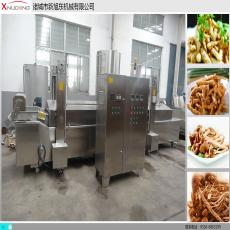 <b>电加热茶树菇油炸生产线</b>