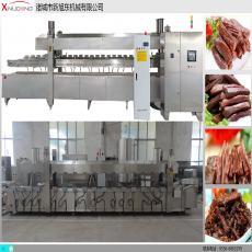 <b>电加热牛肉干油炸生产线</b>